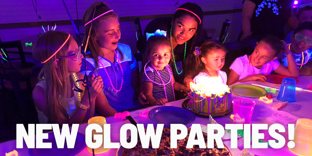 NEW Glow Parties at In The Game