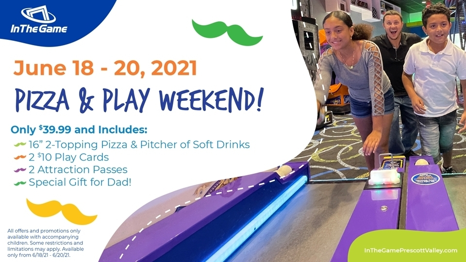 Pizza & Play Weekend!